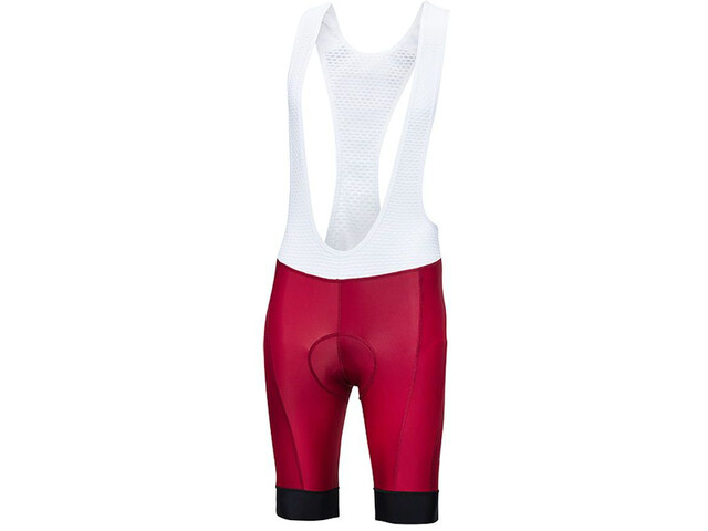 Protective Sequence Bibshorts Herrer, dark red